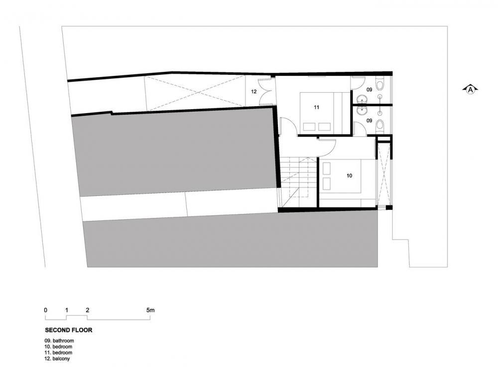 Bản vẽ thiết kế mặt bằng tầng 3