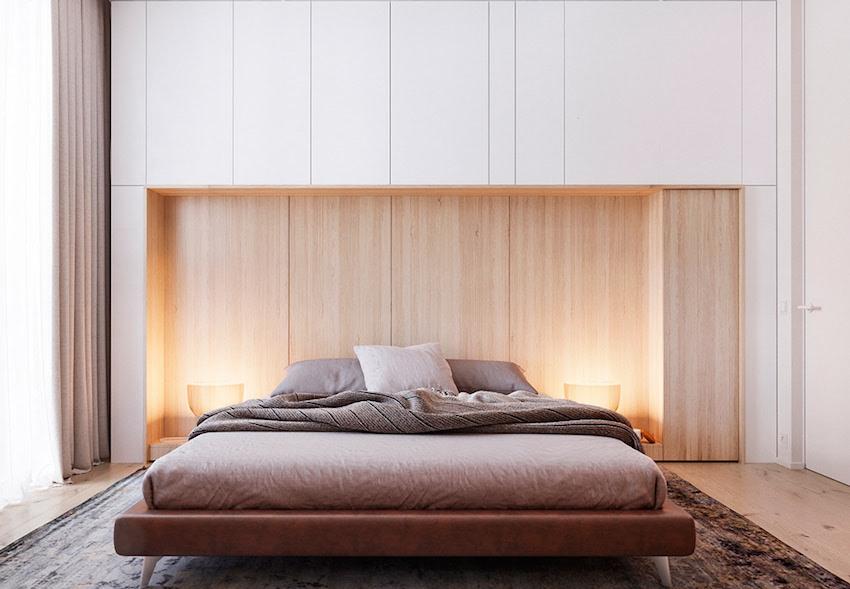 trang trí đầu giường đẹp