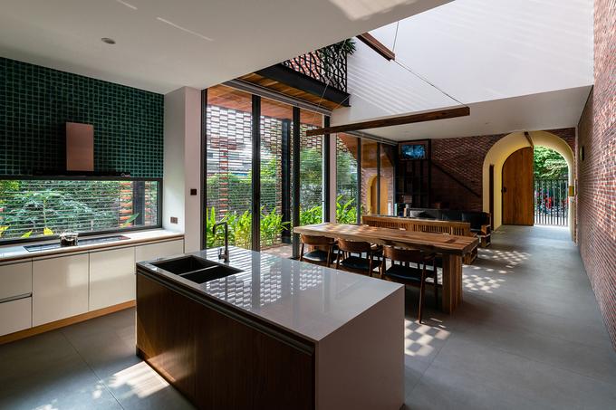phòng khách, phòng ăn, phòng bếp