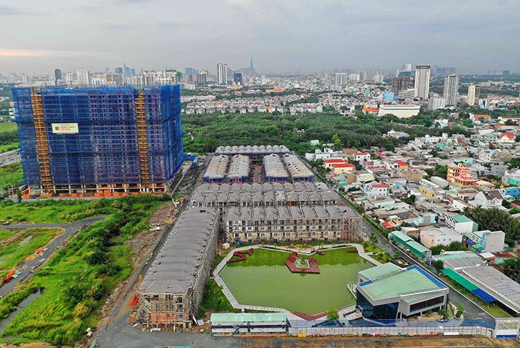 Chính quyền thông tin về dự án 110 biệt thự khu Nam Sài Gòn xây