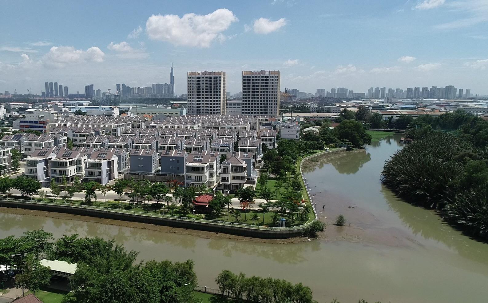 Nhà đất đô thị ven sông tại TP.HCM ngày càng được ưa chuộng