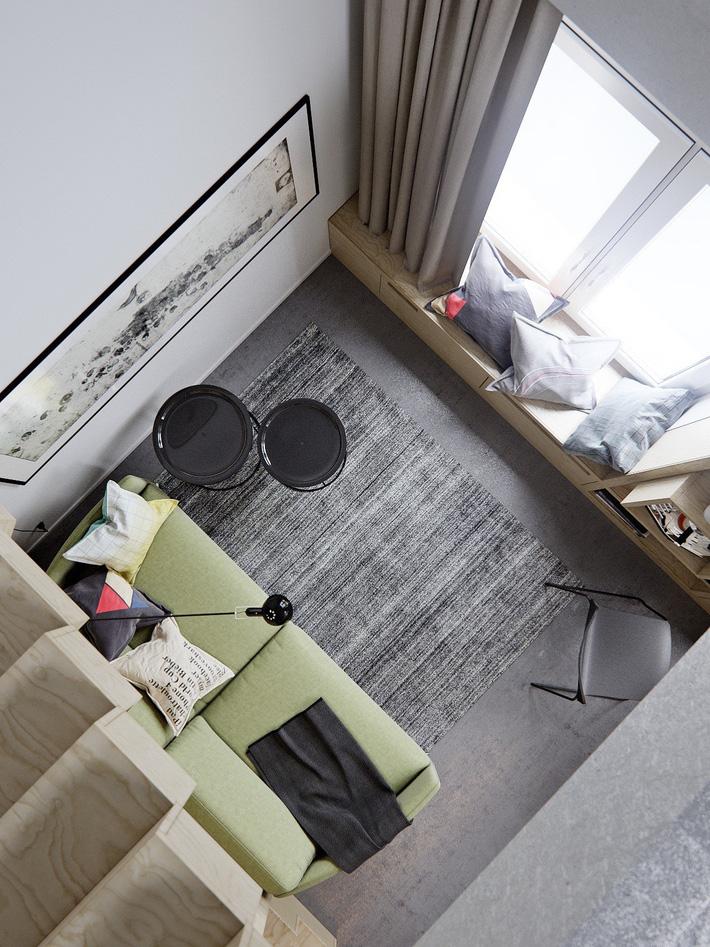 Ấn tượng với thiết kế nội thất quá đỗi thanh lịch trong 2 căn hộ nhỏ