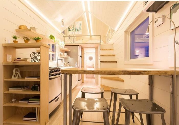 phòng bếp nhỏ gọn