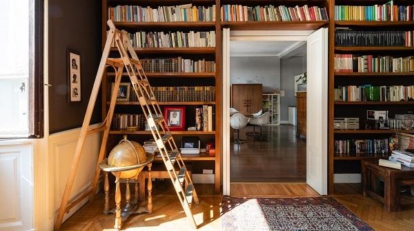 thiết kế phòng đọc sách tại nhà