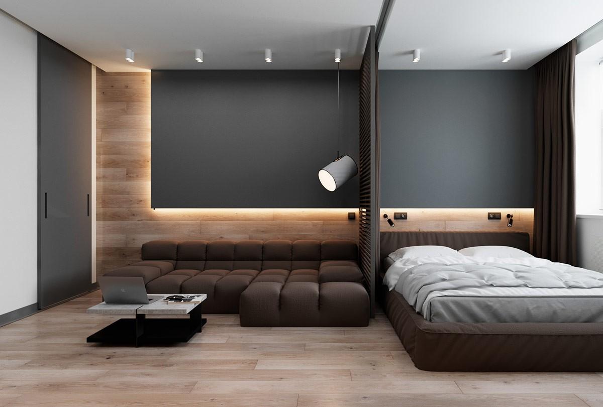 Ngưỡng mộ với cách bài trí nội thất trong căn hộ 42m2