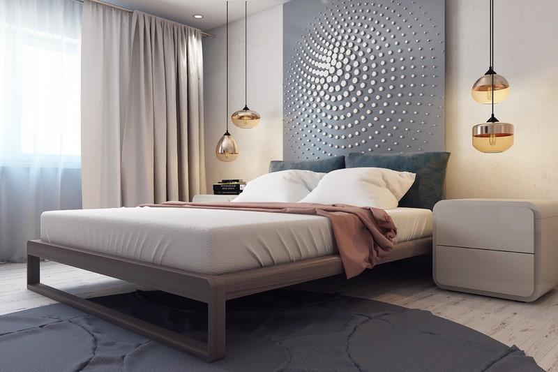 tường đầu giường ngủ đẹp