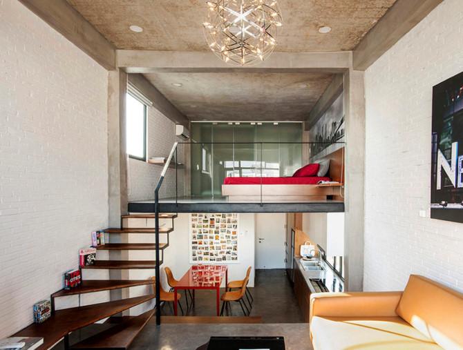 căn hộ có 3 tầng thông nhau ở Sài Gòn