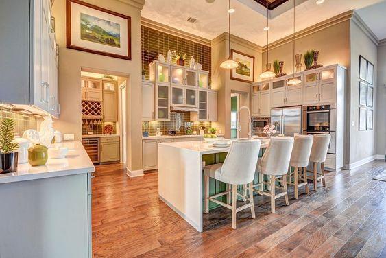 phòng bếp ăn hiện đại