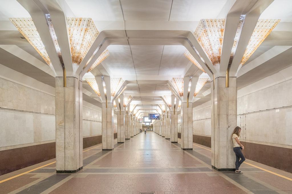 thiết kế ga tàu điện ngầm độc đáo