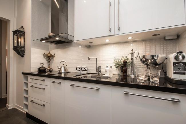phòng bếp trong căn hộ 51m2