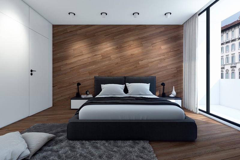 tạo chiều sâu cho phòng ngủ