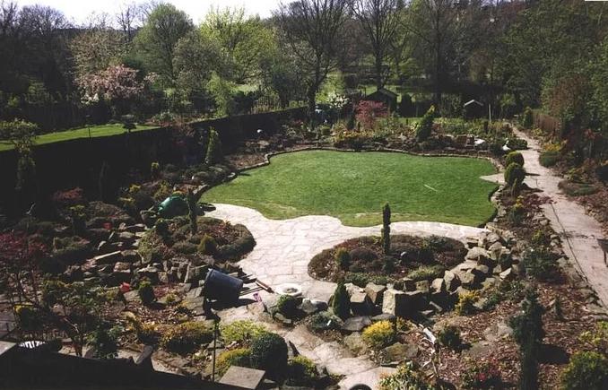 hiện trạng khu vườn năm 1994