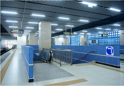 nhà ga Cát Linh - Hà Đông