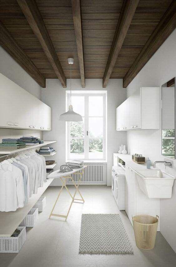 phòng giặt đầy đủ tiện ích