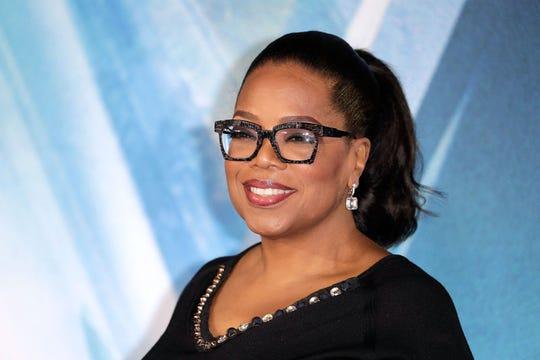 Bức ảnh bà hoàng truyền thông Oprah Winfrey, người giàu thứ 916 hành tinh theo xếp hạng của Forbes