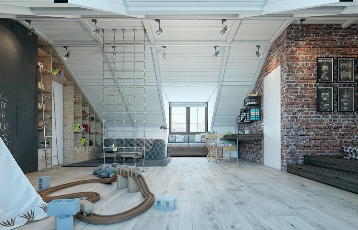 Phòng ngủ cho bé thiết kế ấn tượng, kích thích trẻ sáng tạo