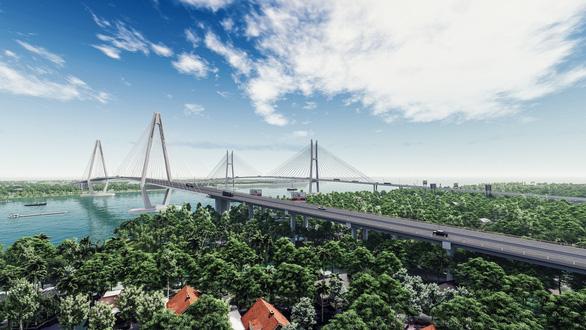 Hình ảnh phối cảnh Cầu Mỹ Thuận 2