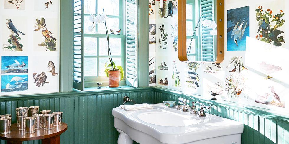 Những màu sơn tốt nhất cho phòng tắm nhỏ nếu bạn đã chán sắc trắng