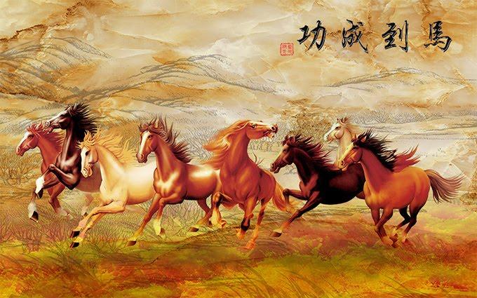 tranh ngựa hợp tuổi nào, tranh ngựa hợp với tuổi gì