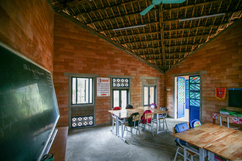Hình ảnh bên trong trường tiểu học ở Bảo Yên