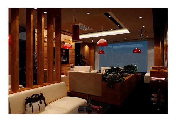 Hình ảnh nội thất quán cà phê tầng 2 - góc 1
