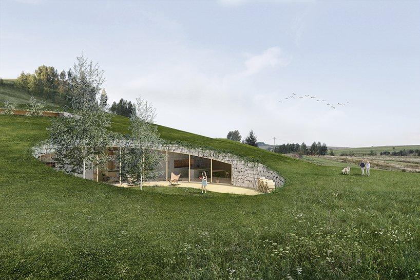 Ngôi nhà mái cỏ