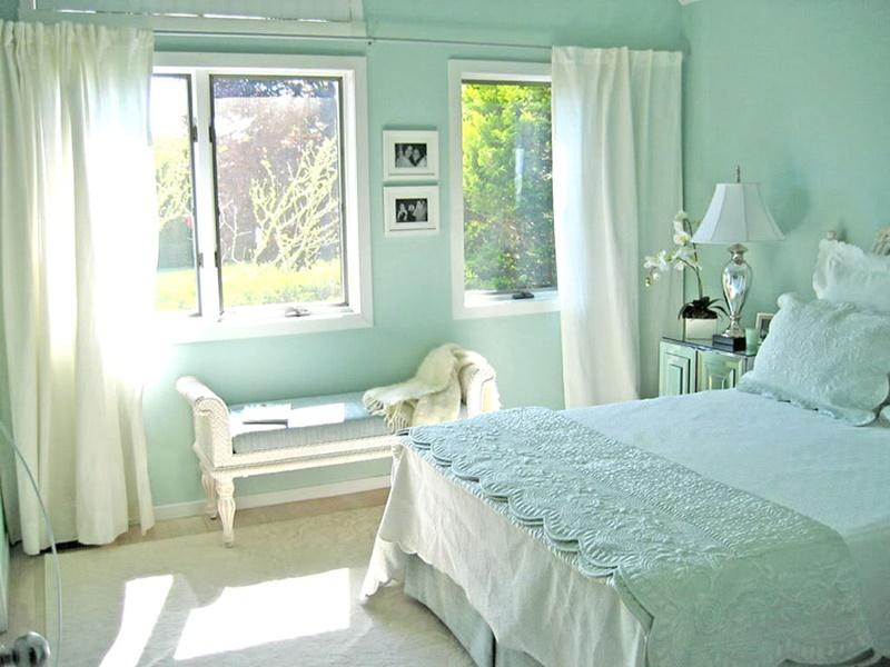 Màu sơn phòng ngủ cho người mệnh Mộc