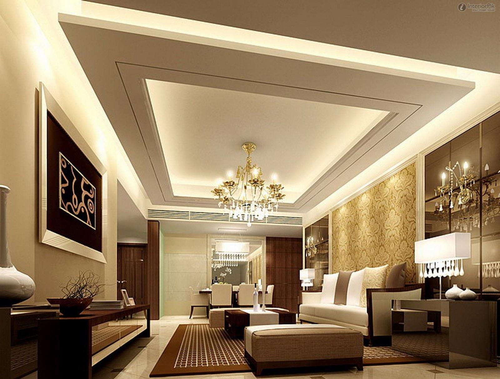Thiết kế trần thạch cao cho nhà ở và những lưu ý