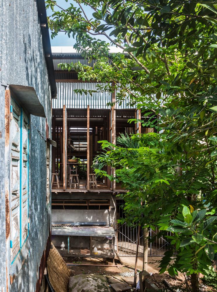 hình ảnh một góc ngôi nhà ở Châu Đốc