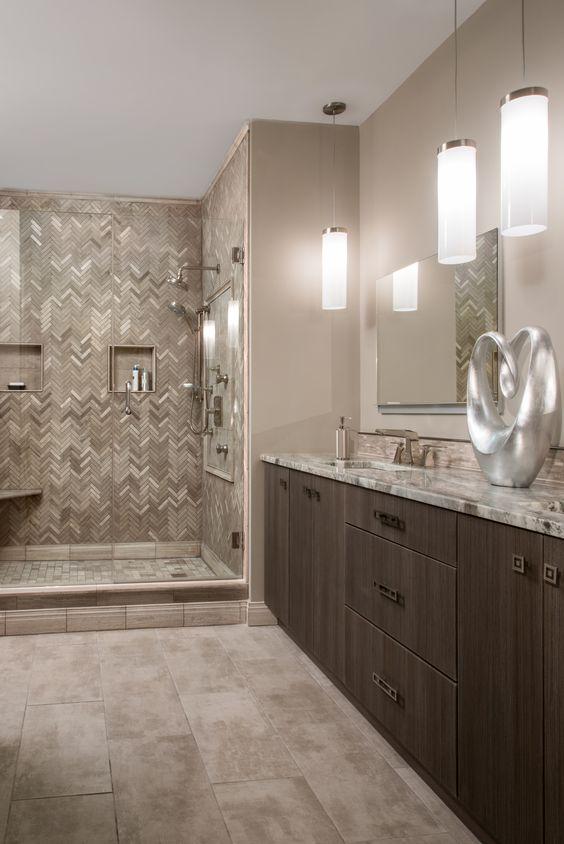 hình ảnh phòng tắm màu trung tính chủ đạo