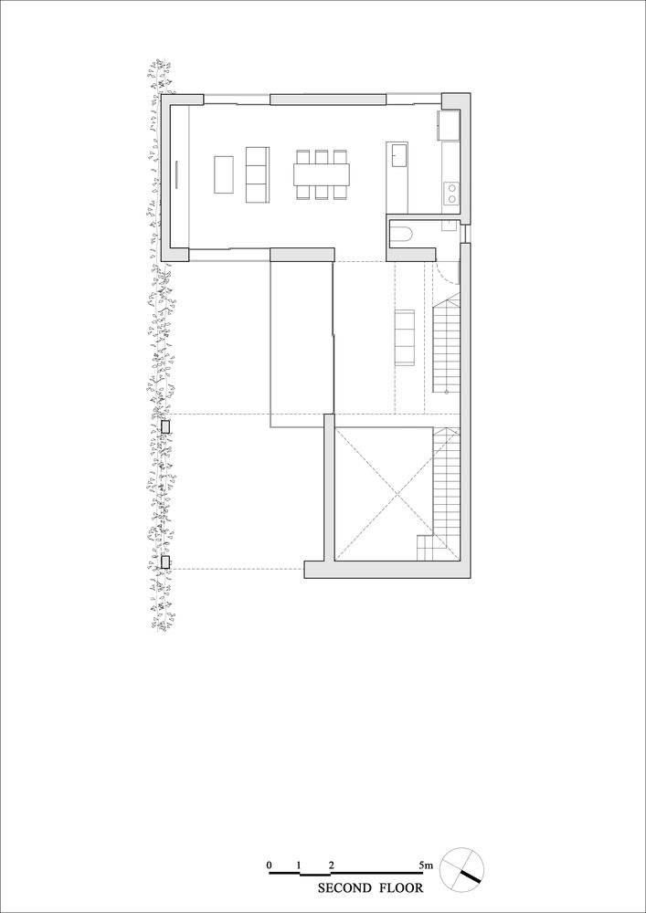 Sơ đồ thiết kế mặt bằng tầng 2