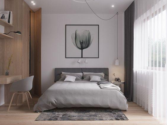 hình ảnh phòng ngủ phong cách tối giản