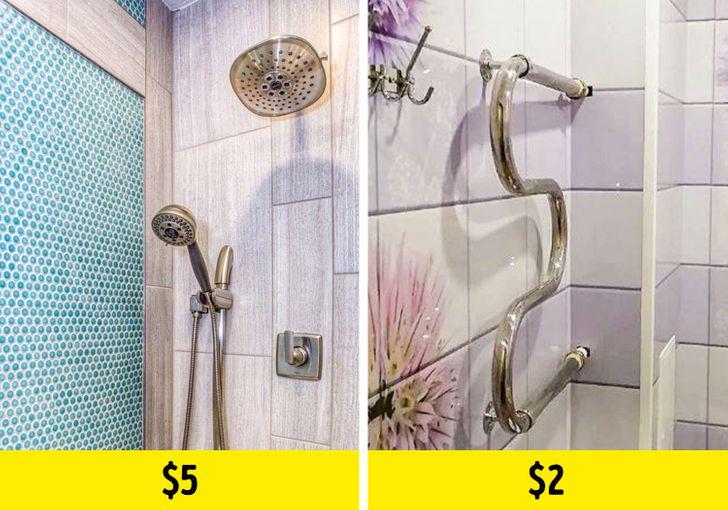 hình ảnh minh họa cho việc cải tạo phòng tắm với tấm nhựa ốp tường