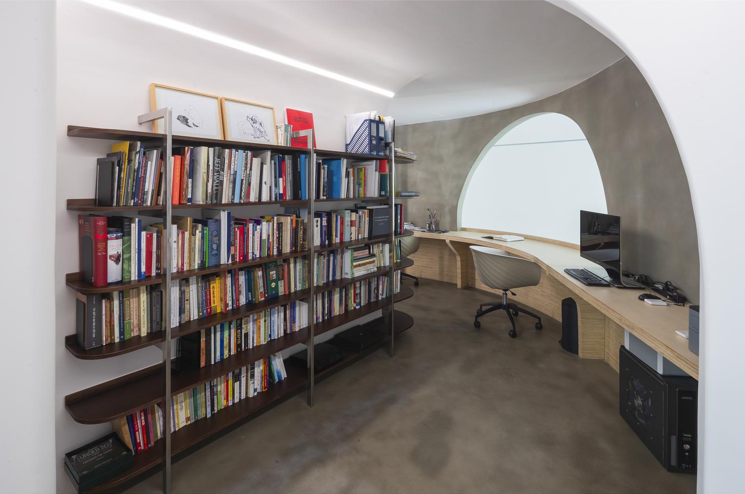 hình ảnh văn phòng tại nhà có thiết kế độc đáo