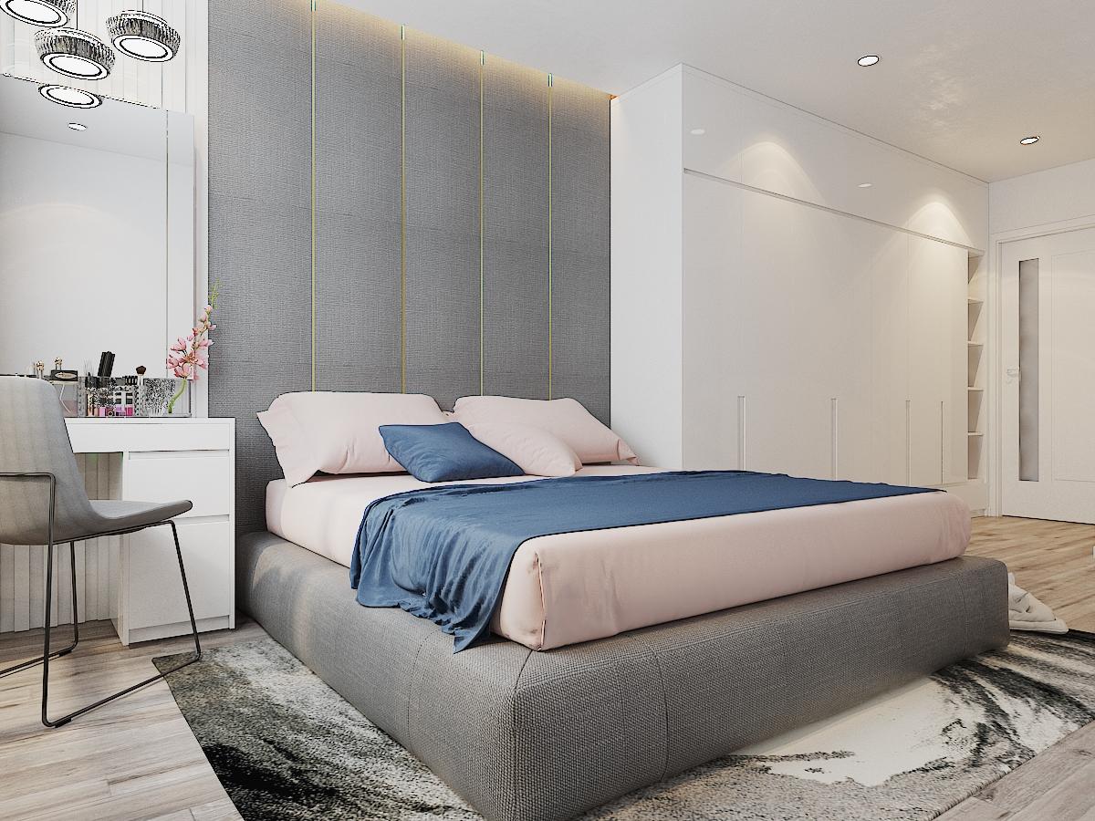 hình ảnh phòng ngủ đẹp với giường nệm sang trọng
