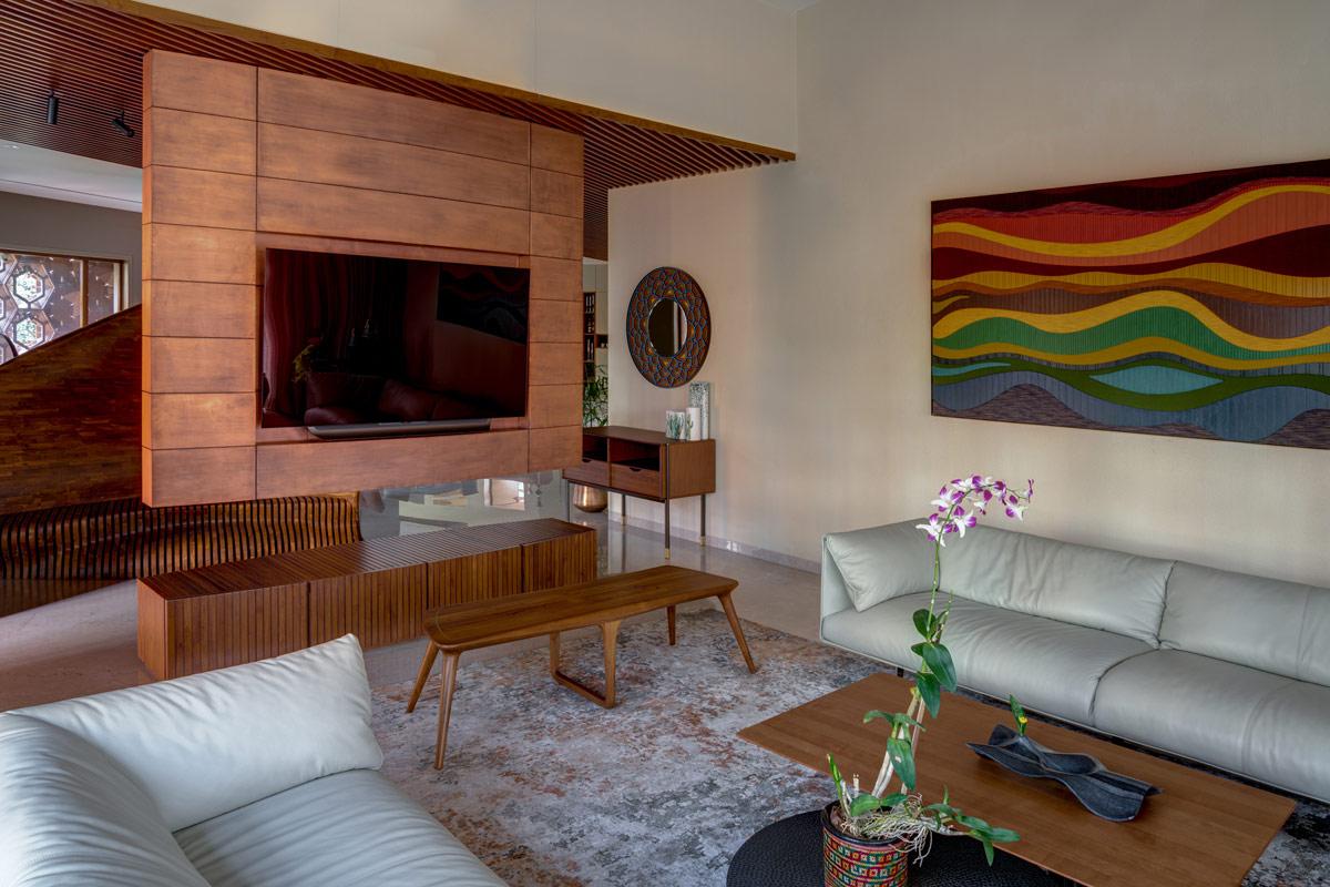 hình ảnh tủ kệ tivi ấn tượng trong phòng khách