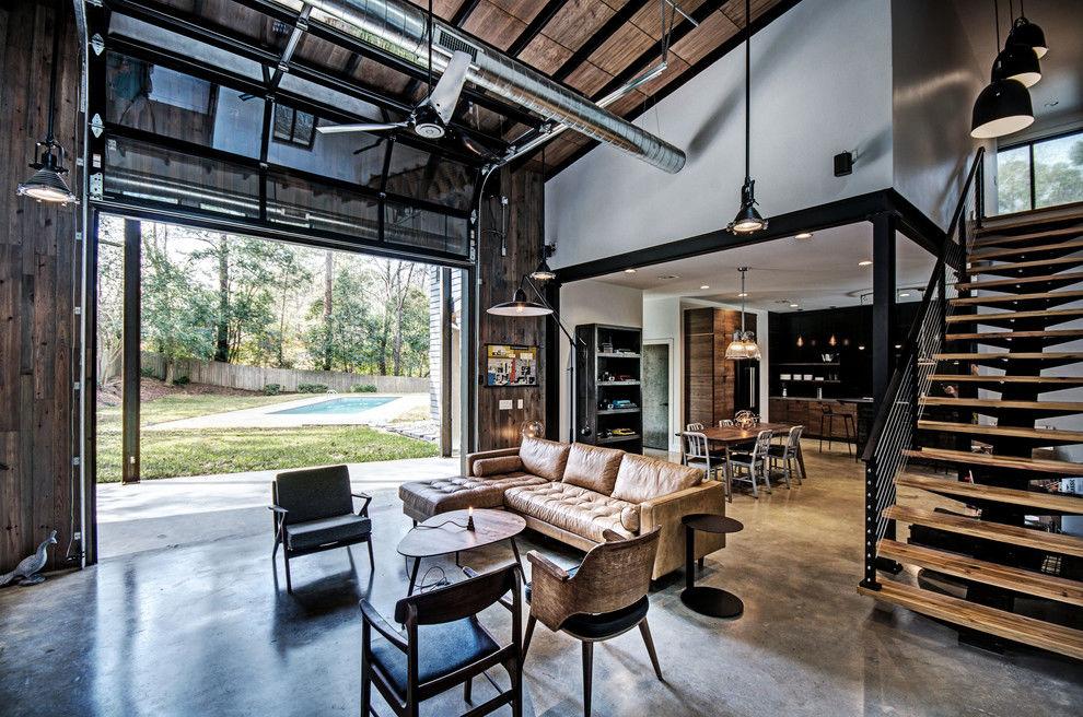 Phong cách công nghiệp mạnh mẽ, phóng khoáng trong thiết kế nội thất