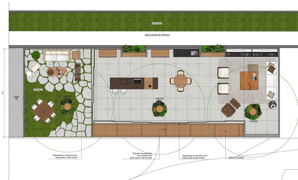 Mặt bằng thiết kế ngôi nhà 160m2