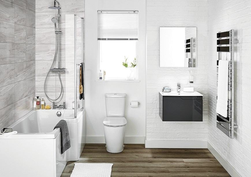Trong biệt thự 3 tầng, các phòng tắm - vệ sinh đều được trang bị đầy đủ các tiện ích hiện đại.