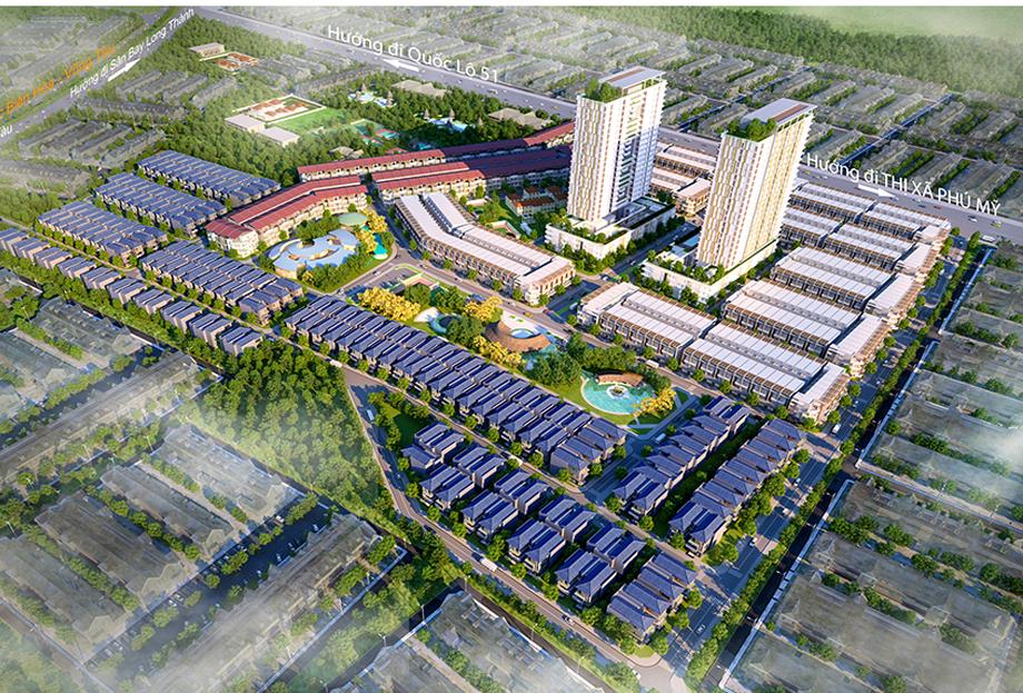 Chấp thuận đầu tư dự án nhà ở hơn 500 tỷ đồng ở Phú Mỹ