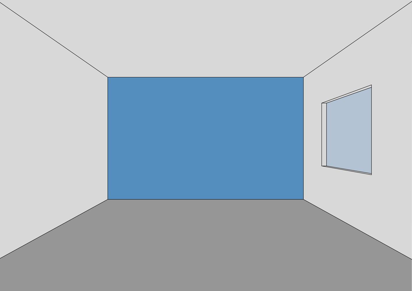 Chỉ với bức tường phía sau sơn màu đậm hơn, căn phòng trở nên có chiều sâu và điểm nhấn hơn, không tạo cảm giác trống trải như trước.