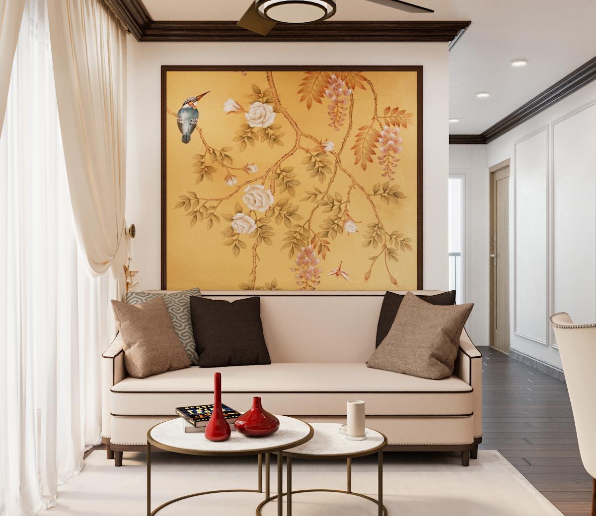 Đẹp tinh tế căn hộ phong cách Indochine của CEO thời trang