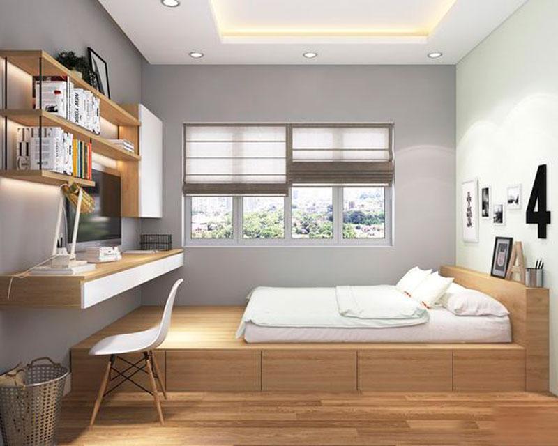 5 mẫu thiết kế nội thất phòng ngủ đẹp, tiết kiệm chi phí