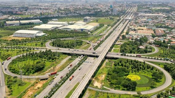 hình ảnh giao thông hạ tầng khu Đông TP.HCM nơi sẽ thành lập TP. Thủ Đức trong tương lai