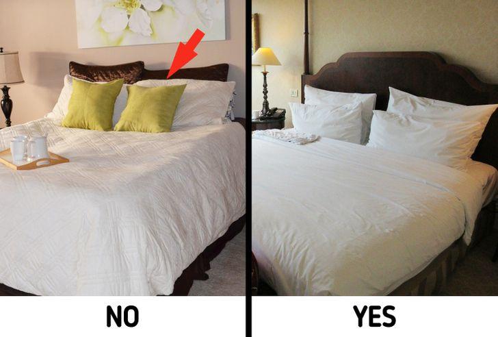 hình ảnh giường ngủ có tựa lưng và không tựa lưng