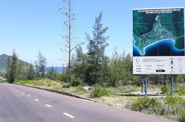 hình ảnh lối vào dự án Khu du lịch khách sạn nghỉ dưỡng Vĩnh Hội