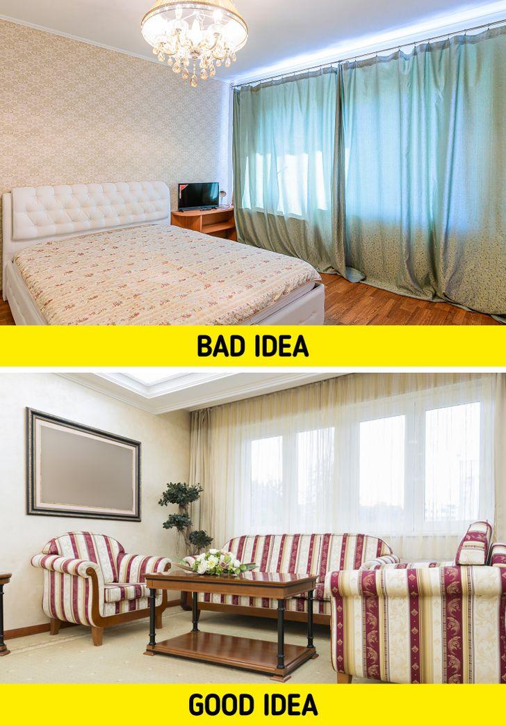 hình ảnh minh họa cho việc bài trí nội thất phòng khách căn hộ nhỏ