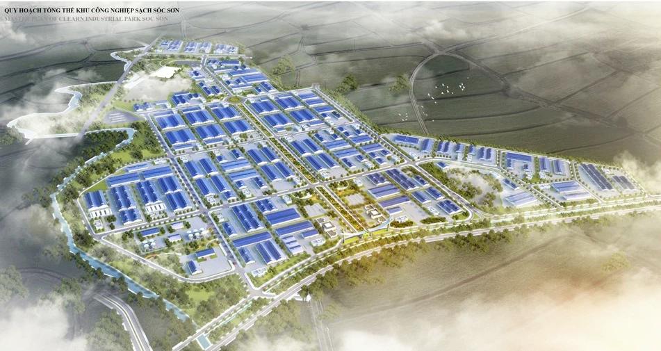 Có thêm khu công nghiệp sạch ở Sóc Sơn, Hà Nội