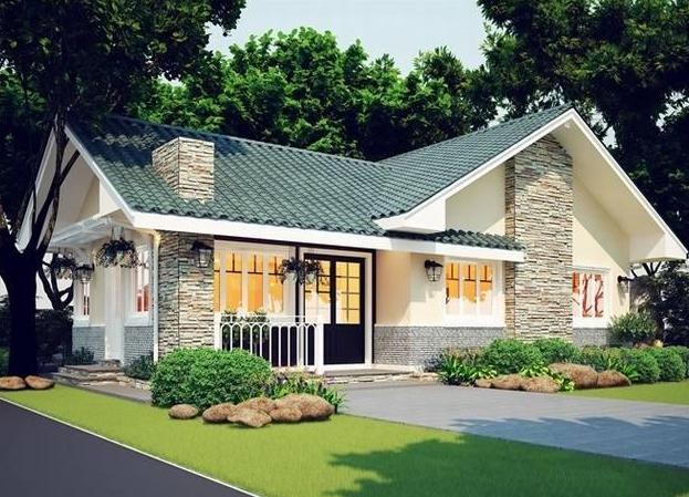 Những yếu tố không thể bỏ qua khi thiết kế nhà đẹp mái Thái