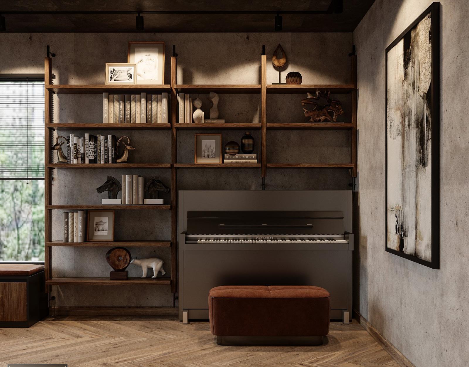 Kiến trúc sư khéo léo tích hợp không gian làm việc, thư giãn và giải trí trong một mặt sàn mà vẫn đảm bảo sự phân tách tương đối giữa các khu vực chức năng.